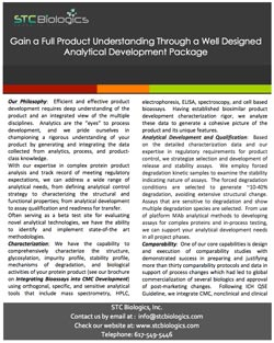 Gain a Full Product Understanding Through a Well Designed Analytical Package
